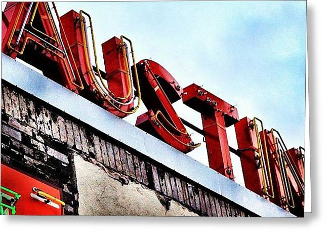 Love #austin Greeting Card by Things To Do In Austin Texas