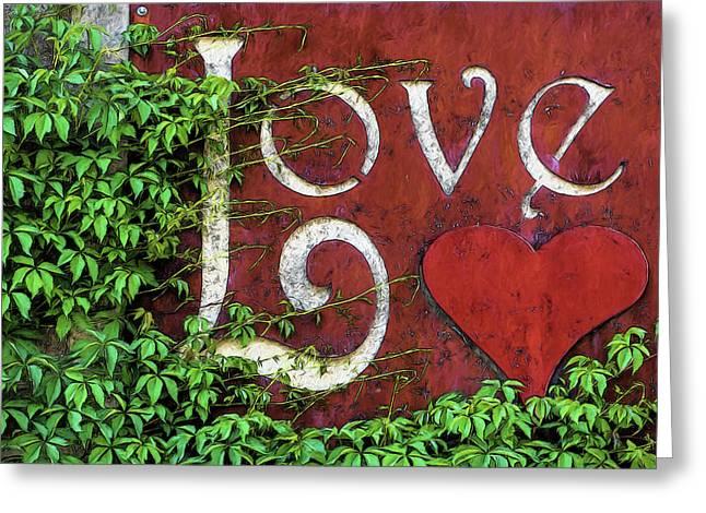 Love Binds To All Living Things Greeting Card by John Haldane