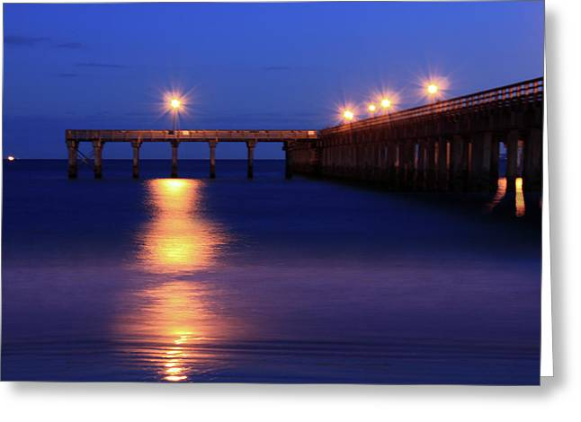 Beach Photograph Greeting Cards - Love Blue Greeting Card by Mark Ashkenazi