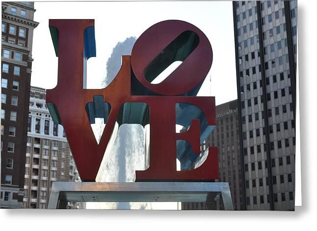 LOVE Greeting Card by Brynn Ditsche