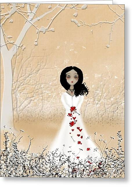 Love Can Touch Us One Time Greeting Card by Charlene Zatloukal