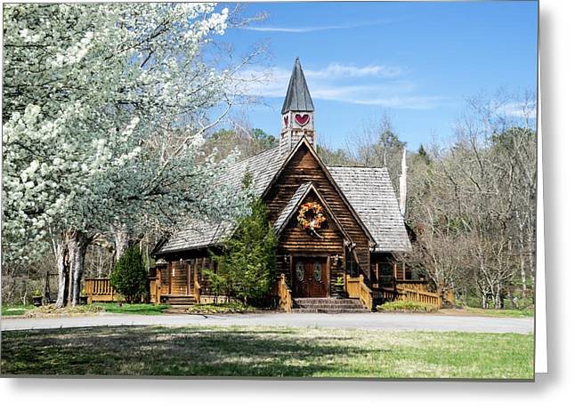 Love Chapel In Spring 1 Greeting Card by Douglas Barnett