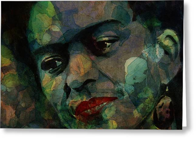 Love Hurts Love Scars  Greeting Card by Paul Lovering
