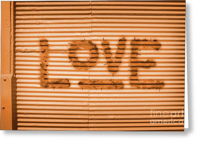 Love Is All Greeting Card by Jorgo Photography - Wall Art Gallery