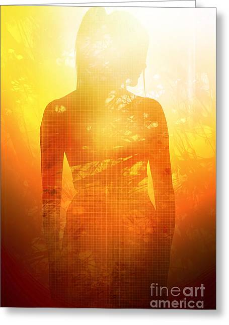 Love Is The Truth. Light Is The Way Greeting Card by Jorgo Photography - Wall Art Gallery