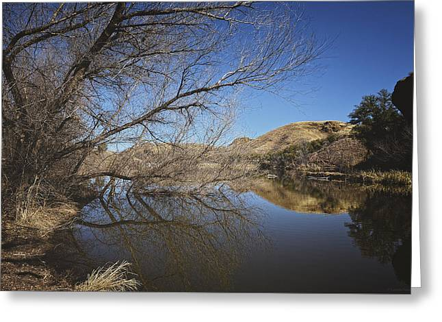 Fall Colors Greeting Cards - Love Lifted Me Greeting Card by Lucinda Walter