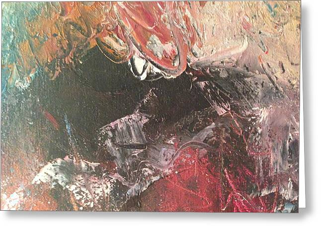 Faa Featured Paintings Greeting Cards - Love Me Tender - Detail Five Greeting Card by Marla McPherson