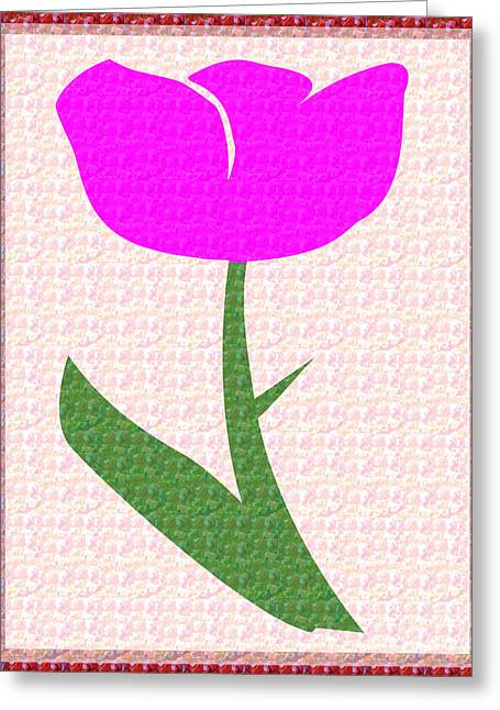 Souls Greeting Cards - Love n Romance Pink Flower Presentation for Sweet Heart Soul Mate by NavinJoshi at FineArtAmerica.co Greeting Card by Navin Joshi