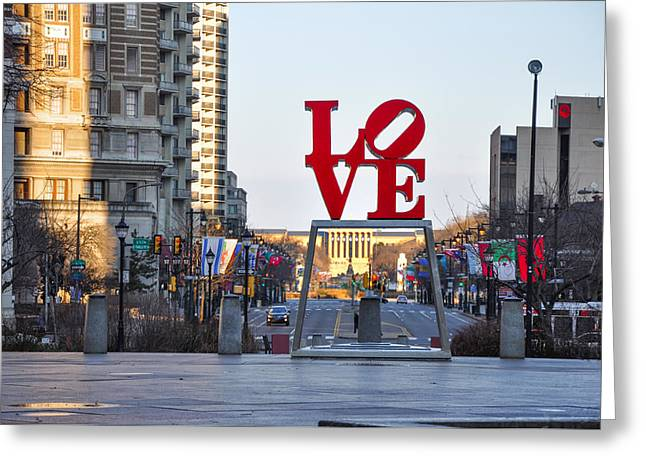 Love On The Parkway Greeting Card by Bill Cannon