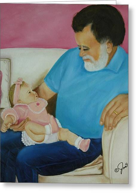 Love  Passed On Through The Years Greeting Card by Joni McPherson
