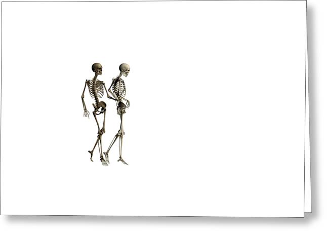 Tibia Greeting Cards - Love Remains Greeting Card by Betsy C Knapp