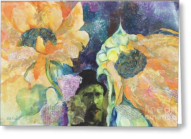 Kate Bedell Greeting Cards - Love Vincent Greeting Card by Kate Bedell