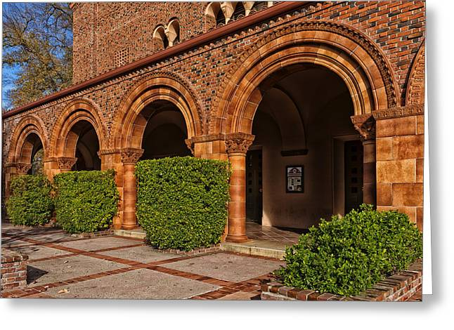 Lovely Campus Building - Cal State University At Chico Greeting Card by Mountain Dreams