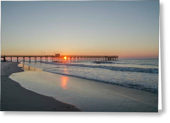Lovely Morning In Avalon Greeting Card by Bill Cannon