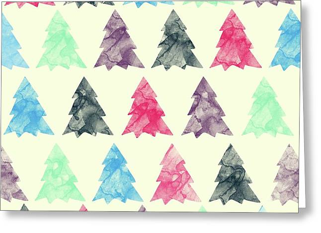 Lovely Pattern II Greeting Card by Amir Faysal