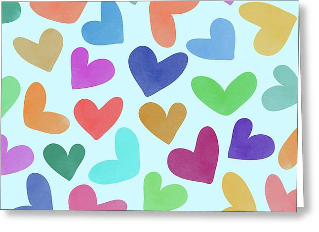 Lovely Pattern Iv Greeting Card by Amir Faysal