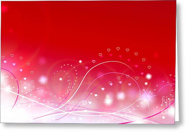 Love Greeting Cards - Lovely Greeting Card by Sandra Hoefer