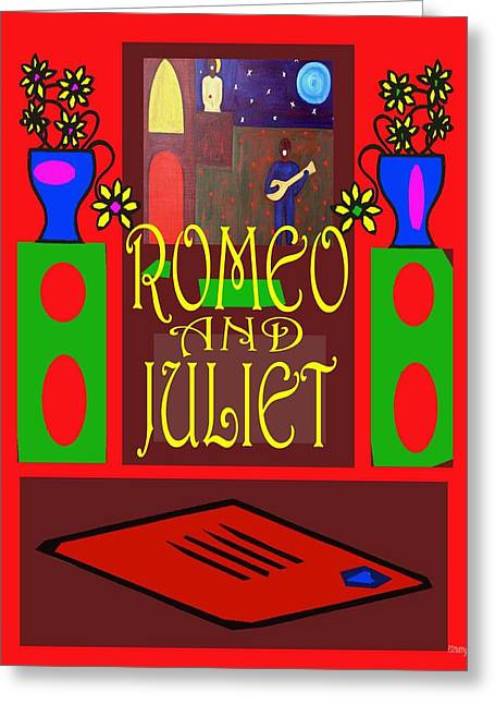 Lovers Greeting Card by Patrick J Murphy