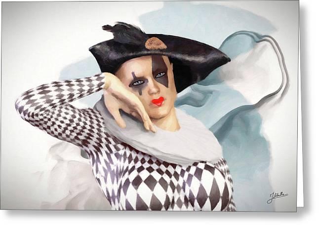 Loving Doll Greeting Card by Joaquin Abella