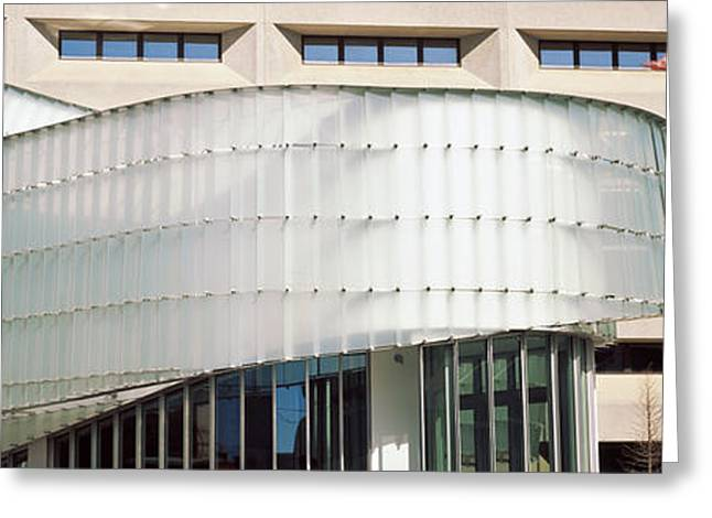 Low Angle View Of A Building, Dr. A. H Greeting Card by Panoramic Images