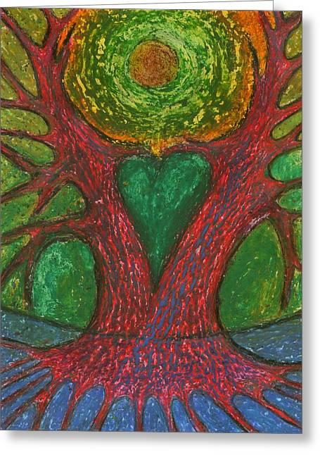 Colours Pastels Greeting Cards - Low Homesickness Greeting Card by Wojtek Kowalski
