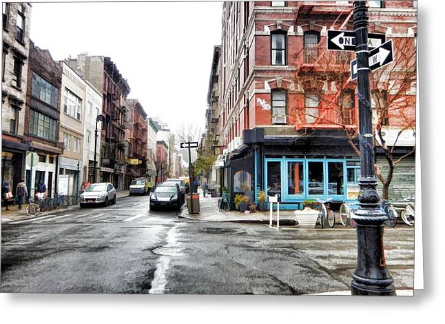 Lower East Side Greeting Cards - Lower East Side Greeting Card by Mike Durant