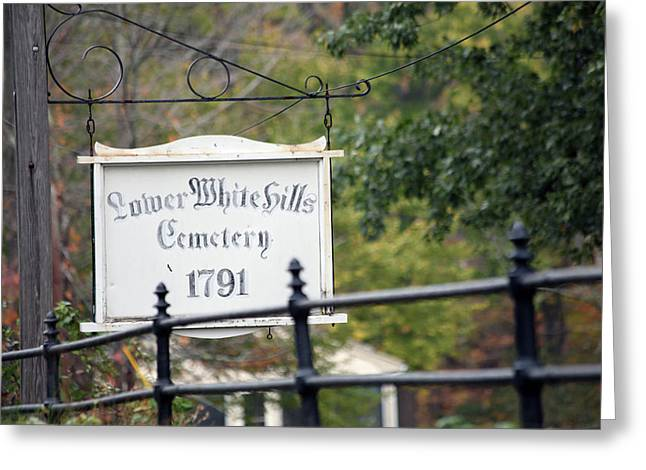 Historical Cemetery Greeting Cards - Lower White Hills Cemetery Greeting Card by Karol  Livote