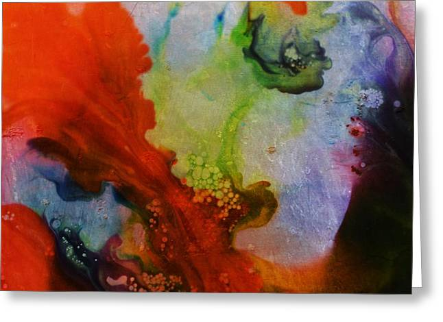 Lucid Dream Greeting Card by Marianna Mills