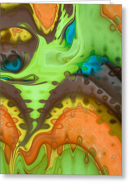 Expresion Greeting Cards - Lucid Dreaming Greeting Card by Linda Sannuti
