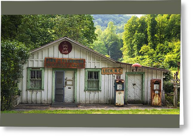 Grocery Store Greeting Cards - Old Country Store - Luck North Carolina Greeting Card by Matt Plyler