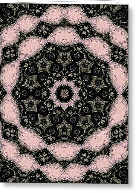 Geometric Design Greeting Cards - Lucky Eight Greeting Card by Natalie Holland