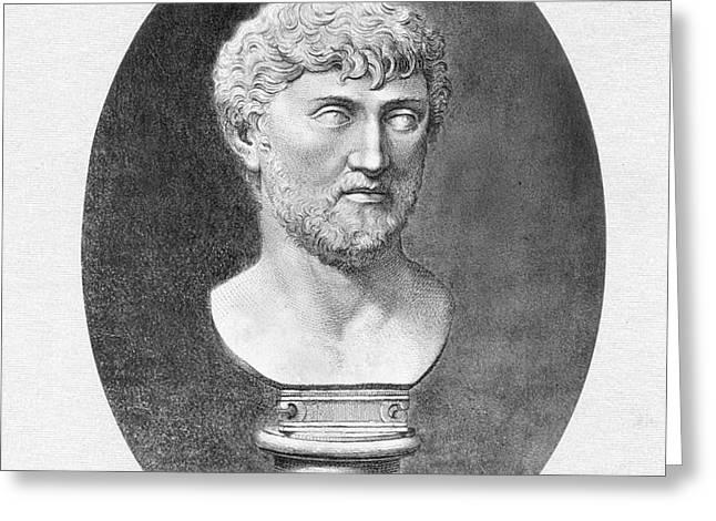 LUCRETIUS (96 B.C.?-55 B.C.) Greeting Card by Granger