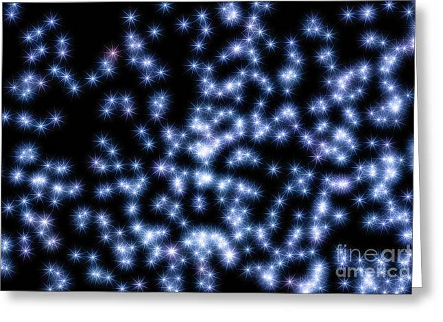 Little Dipper Greeting Cards - Lucy In The Sky with Diamonds Greeting Card by Robert Loe