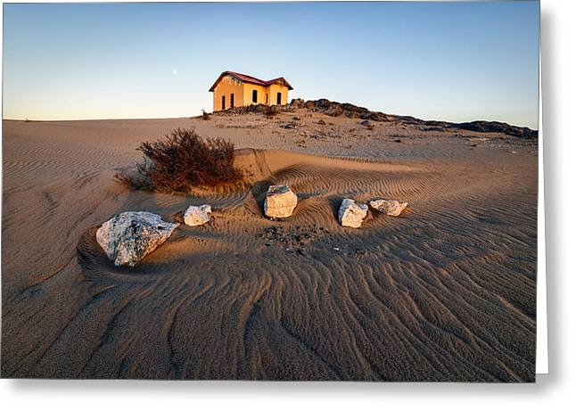 Sand Patterns Greeting Cards - Luderitz Greeting Card by Stephan Vorster