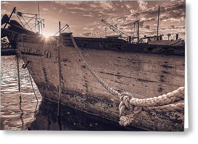 Sailboat Art Greeting Cards - Lulie D 02 Greeting Card by Mark Hazelton