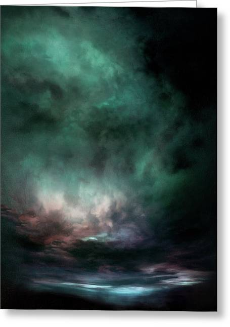 Lumen Sky Greeting Card by Lonnie Christopher