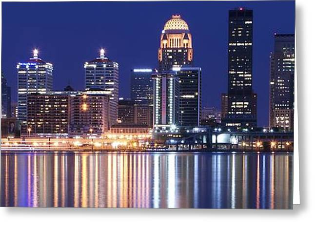 Yum Greeting Cards - Luminescent Louisville Greeting Card by Frozen in Time Fine Art Photography