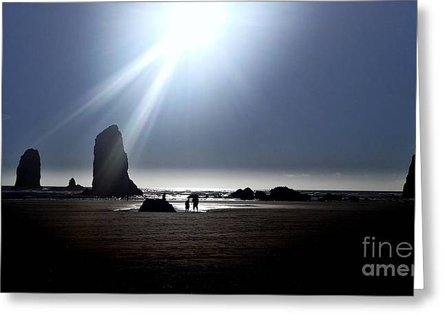 Monolith Greeting Cards - Luminosity Greeting Card by Scott Cameron
