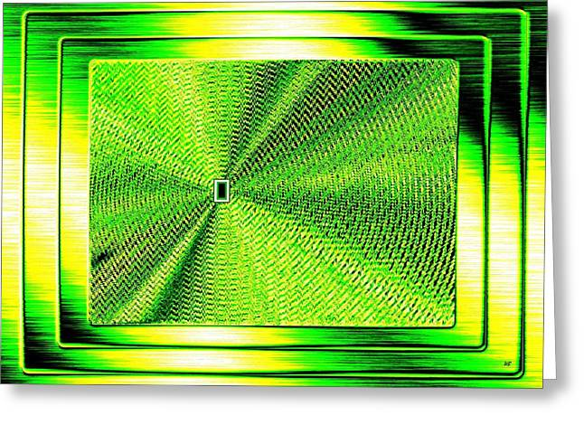 Will Power Digital Art Greeting Cards - Luminous Energy 14 Greeting Card by Will Borden