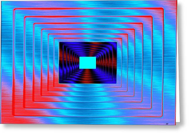Will Power Digital Art Greeting Cards - Luminous Energy 17 Greeting Card by Will Borden