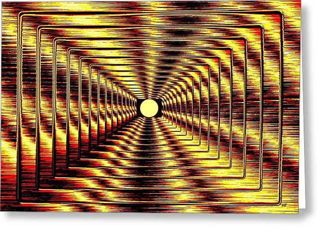 Will Power Digital Art Greeting Cards - Luminous Energy 2 Greeting Card by Will Borden