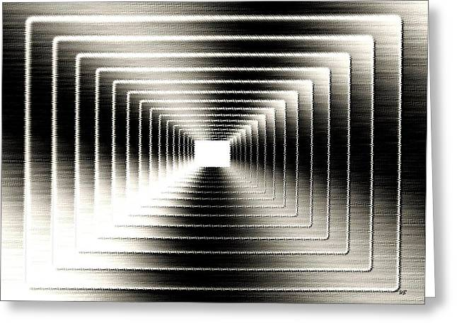 Luminous Energy 3 Greeting Card by Will Borden