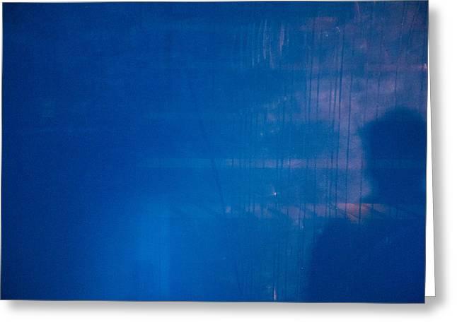 Lurking Shadow Greeting Card by Karol Livote