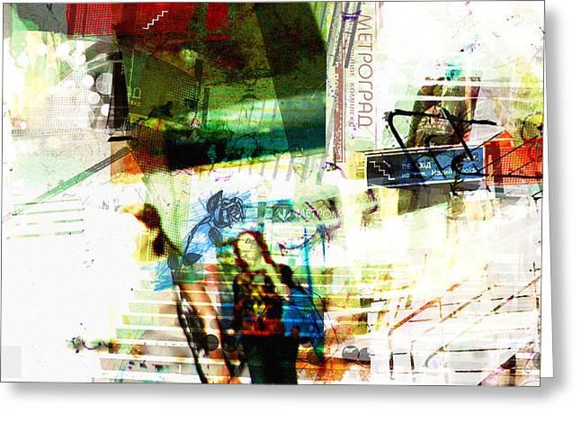 luvgalz 3 Greeting Card by Piotr Storoniak