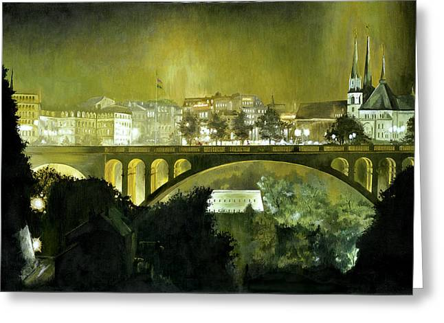 Europe Greeting Cards - Luxembourg Greeting Card by Michael Frank