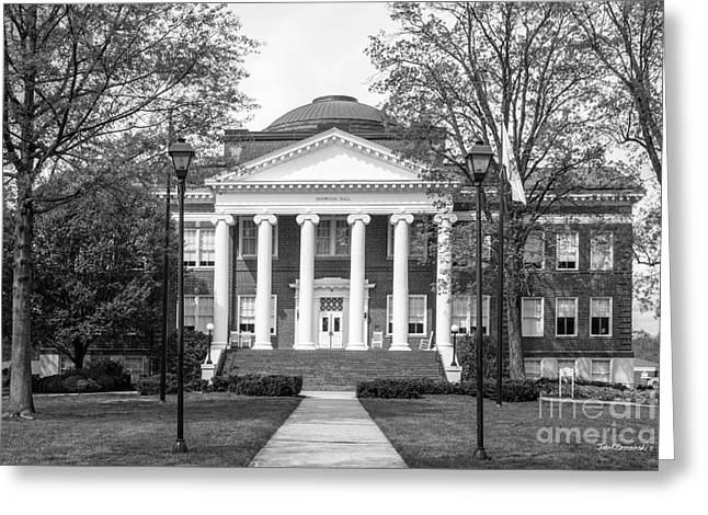 Lynchburg College Hopwood Hall Greeting Card by University Icons