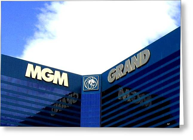 Mgm Greeting Cards - M G M - G R A N D Greeting Card by Will Borden