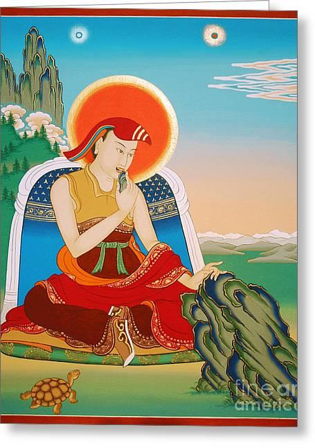 Ma Rinchen Chok Greeting Card by Sergey Noskov