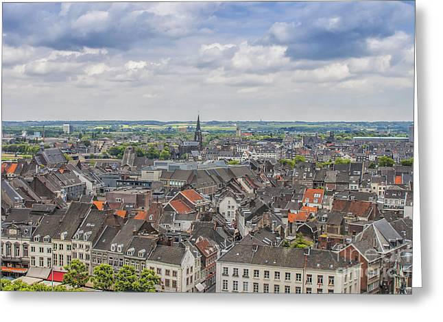 Maastricht In The Netherlands Greeting Card by Patricia Hofmeester