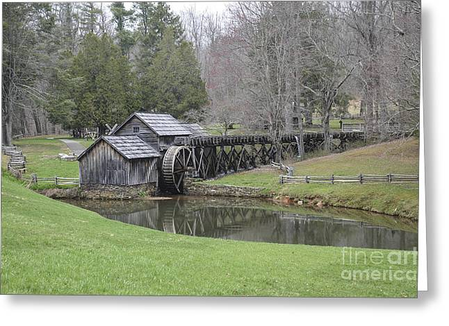 Mabry Mill Greeting Card by Jim Cook
